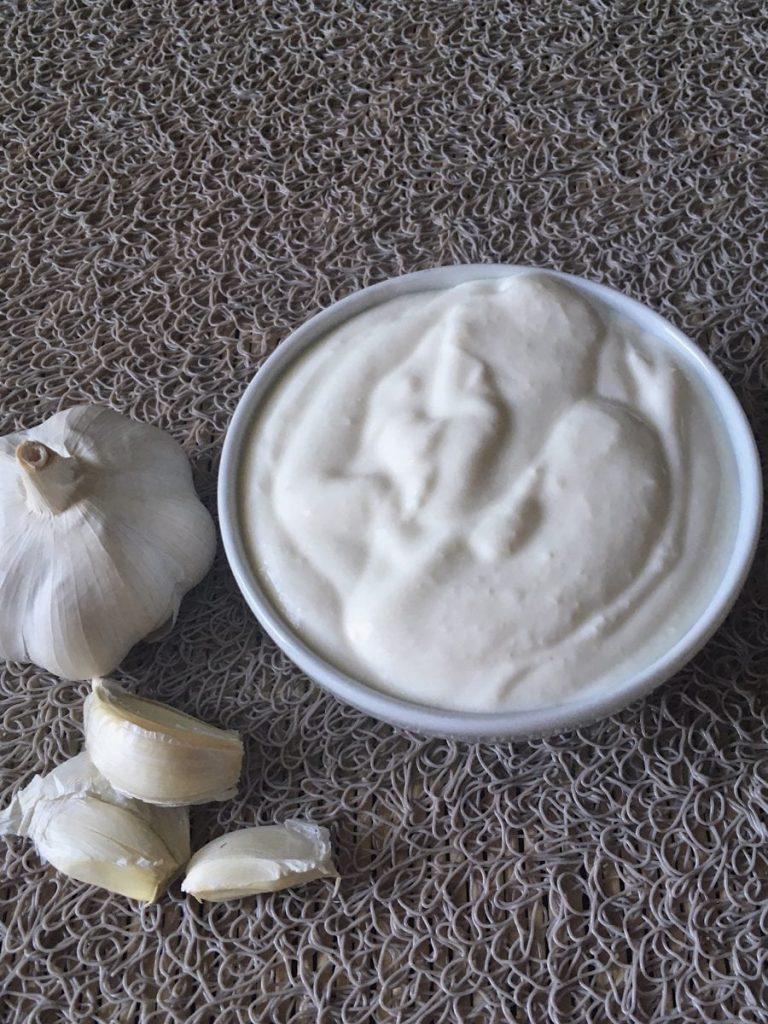 Joghurt garlic sauce
