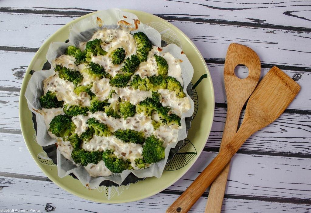 Baked broccoli casserole