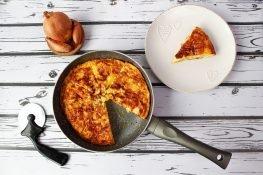 Egg and potato tortilla