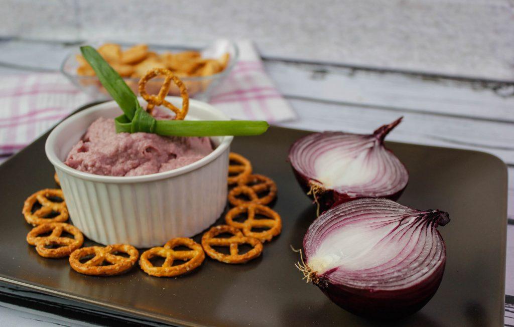 Celeriac and onion dip