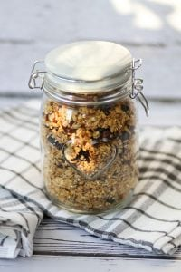 Oats with dry fruits and nuts