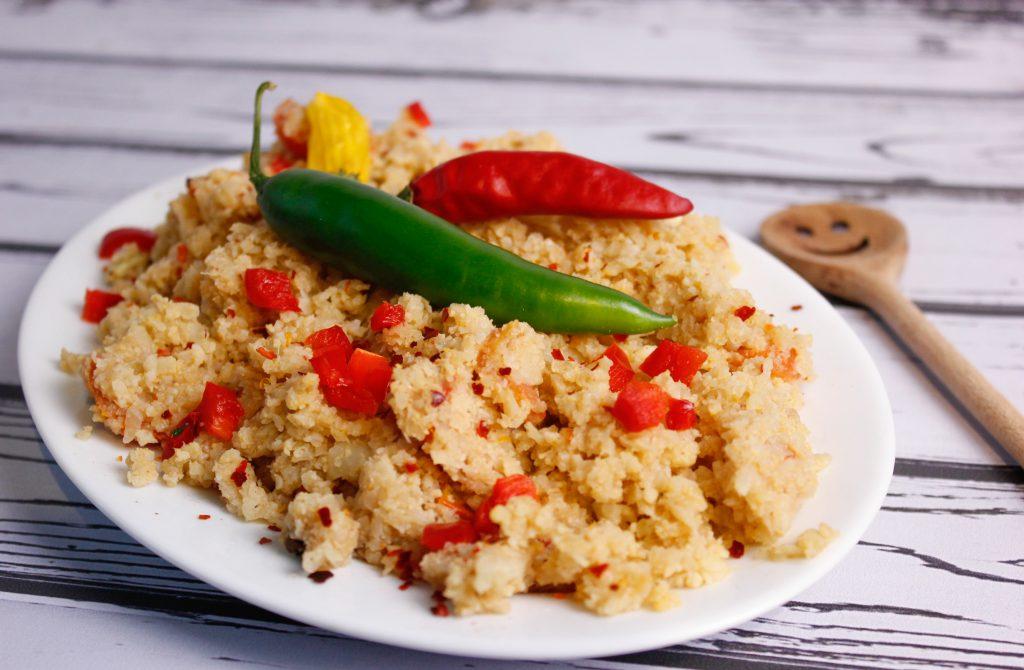 Cauliflower with spices