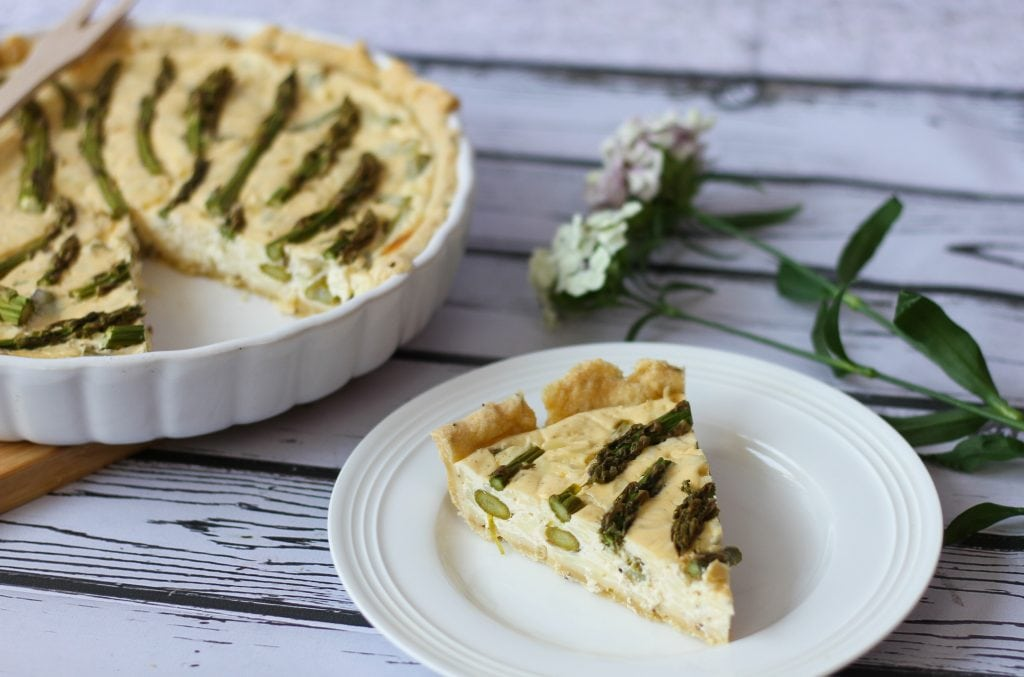 Quiche from cheese