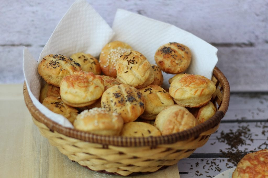 Hungarian pogacsa buns great for breakfast