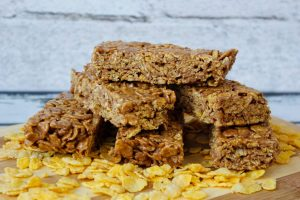 Mars and cornflakes bar