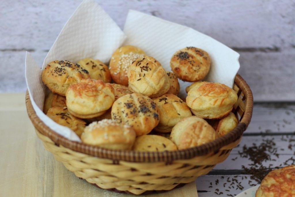 Hungarian pogacsa buns