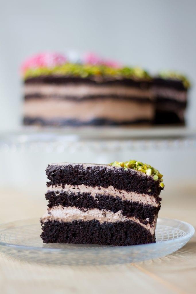 ciasto bezglutenowe czekoladą