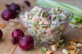 Tuna and orecchiette tricolore pasta salad