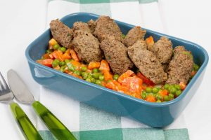 Liver and mince meat meatballs