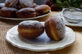 Donuts with jam