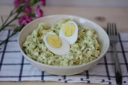 Leek and potato salad