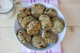 Vegetable falafel